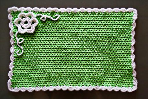 Free Pattern Crochet Placemat Crochet Tutorials