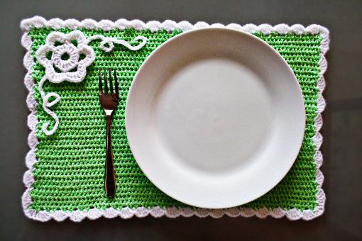 Free Crochet Placemat Patterns Crochet For Beginners